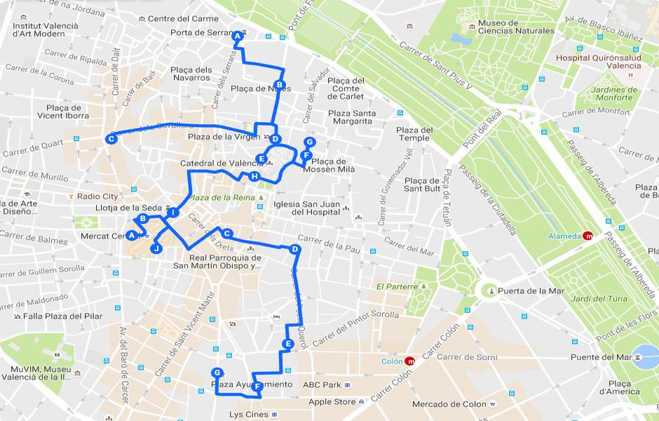 Ruta Un paseo por 2.000 años de historia