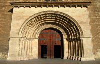 La puerta de la Almoina o del Palau