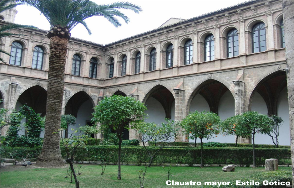 Convento de Santo Domingo. Claustro Mayor