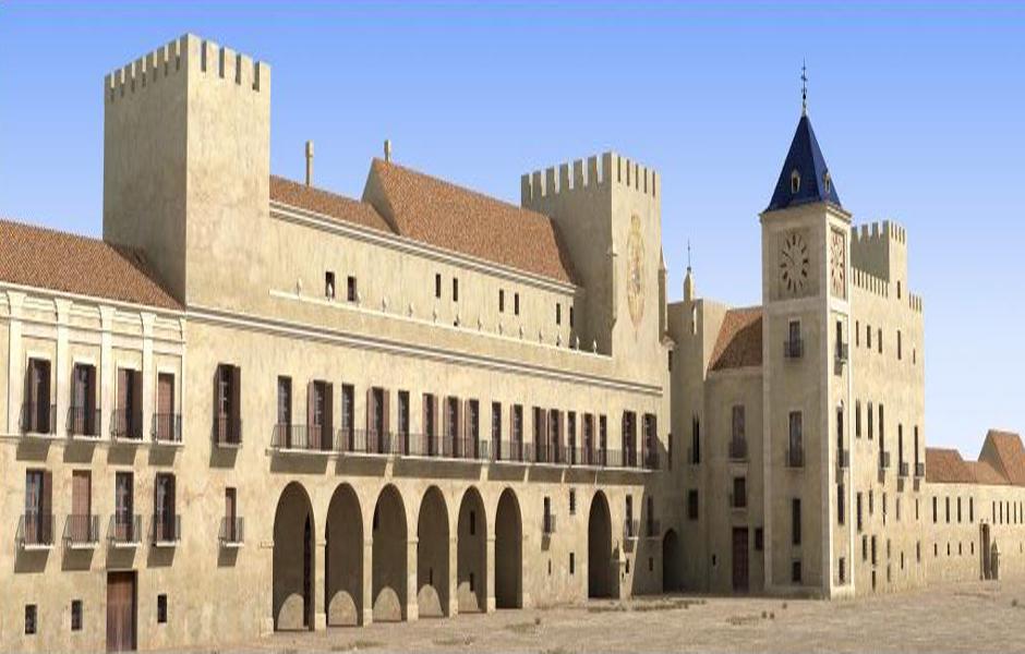 Palacio del Real (Edificio. Desaparecido)