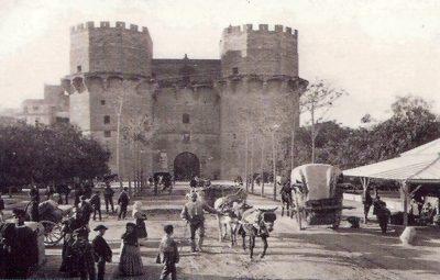 Torres de Serranos y Quart Su ciudad amurallada Historia