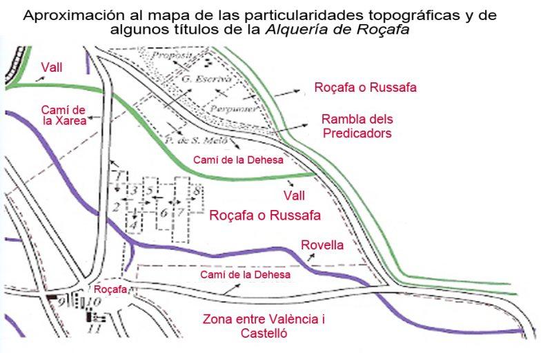 Ruzafa Evolución Histórica Ruzafa y su término