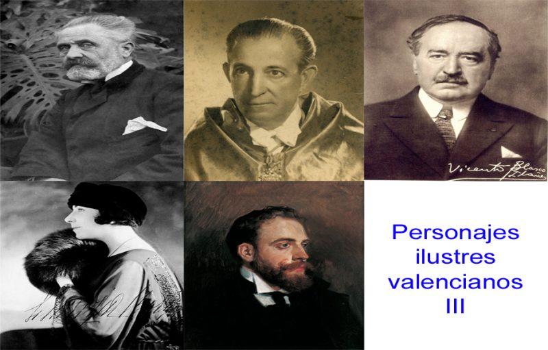 Personajes de la vida valenciana III