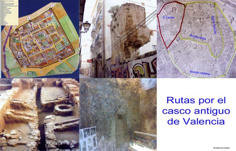 Ruta por el casco antiguo de Valencia