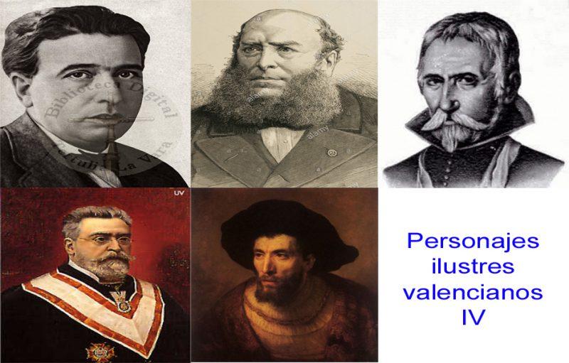 Personajes de la vida valenciana IV