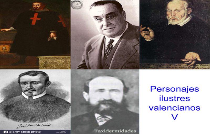 Personajes ilustres valencianos V