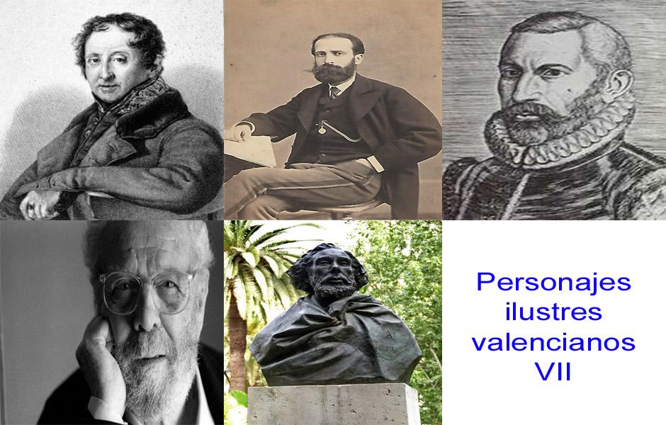 Personajes de la vida valenciana VII