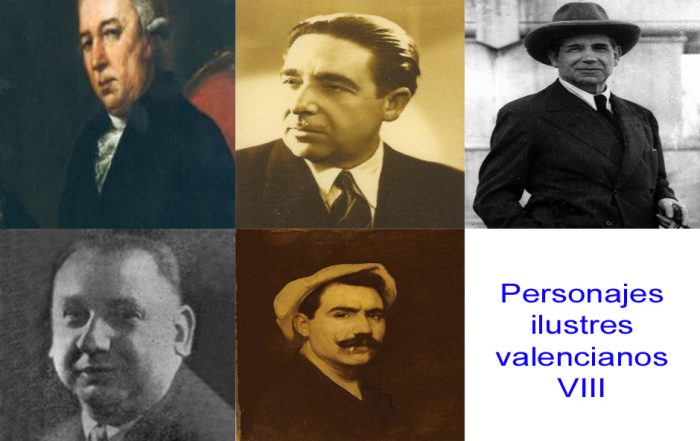 Personajes de la vida valenciana VIII
