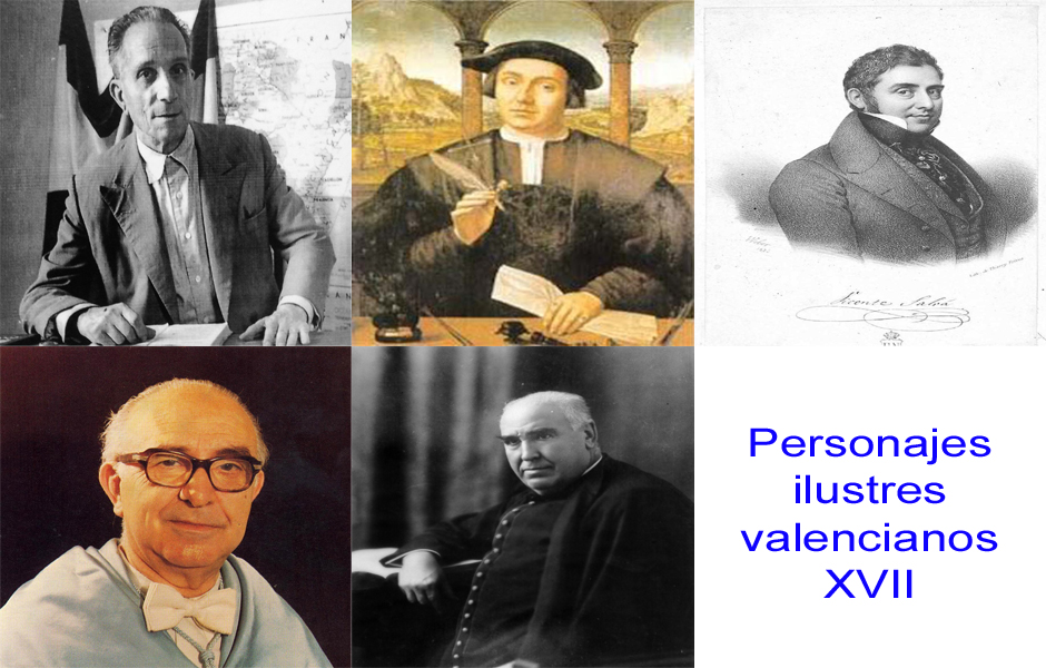 Personajes de la vida valenciana XVII