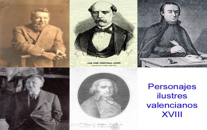 Personajes de la vida valenciana XVIII