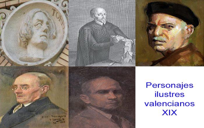 Personajes de la vida valenciana XIX