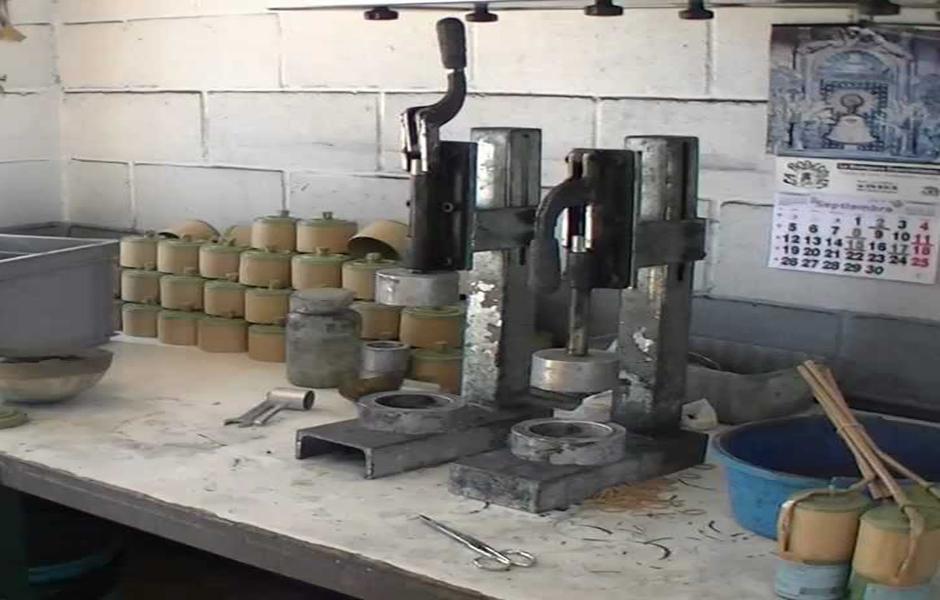 Fuegos artificiales Procesos de fabricación