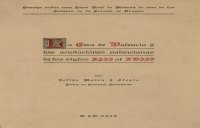 El origen de la Ceca o Real Casa de Moneda de Valencia