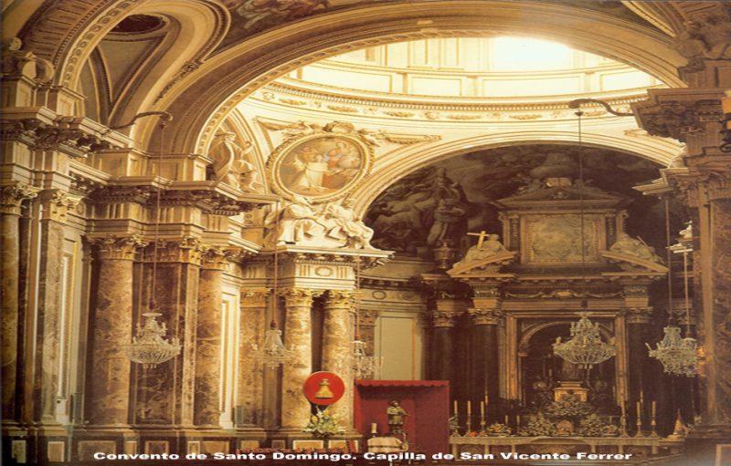 Convento de Santo Domingo. Capilla de San Vicente