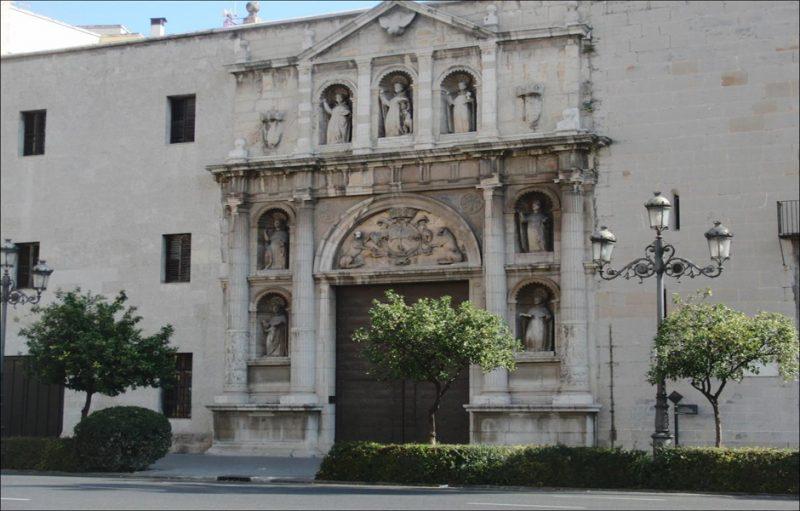 Convento de Santo Domingo. Fachadas