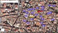 Plano de situacion del Palacio de los Condes de Oliva 940x600