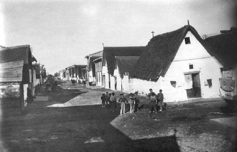 Cabanyal. Poble Nou del Mar. Nacimiento del Canyamelar