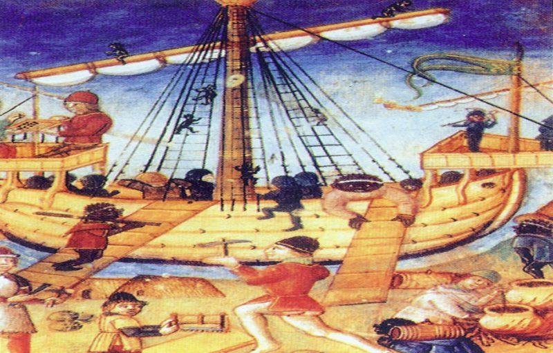 Grau. Vilanova del Mar. El tráfico de esclavos