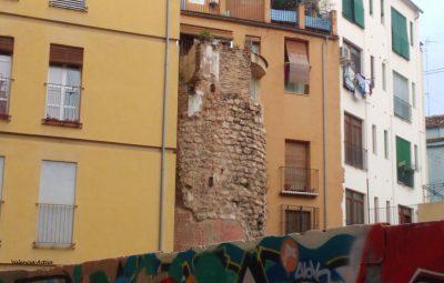 La Valencia amurallada Torre del Ángel