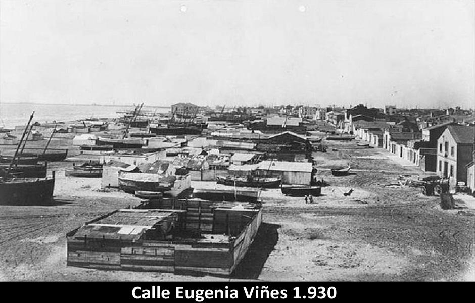 Cabanyal. Poble Nou del Mar. Náufragos y zozobras