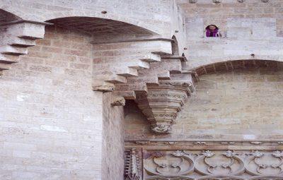 Torres de Serranos y Pere Balaguer