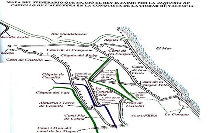 Ruzafa Evolución Histórica Jaime I La conquista de Valencia