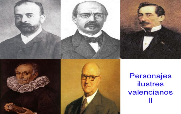 Personajes de la vida valenciana II