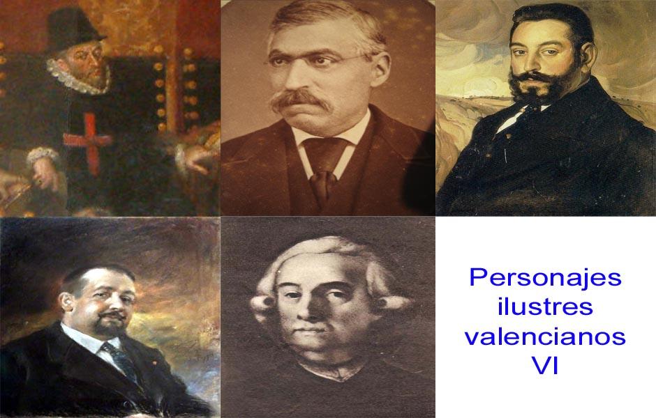 Personajes de la vida valenciana VI