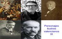 Personajes de la vida valenciana IX