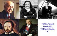 Personajes de la vida valenciana X
