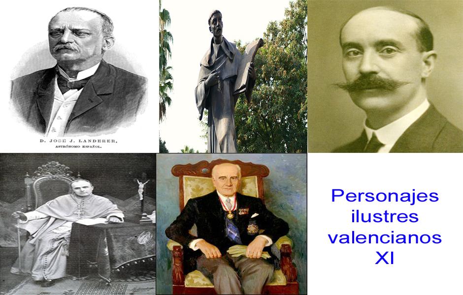 Personajes de la vida valenciana XI