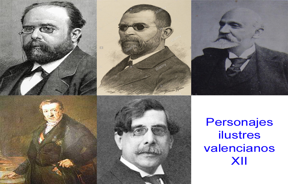 Personajes de la vida valenciana XII