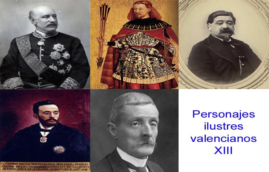 Personajes de la vida valenciana XIII
