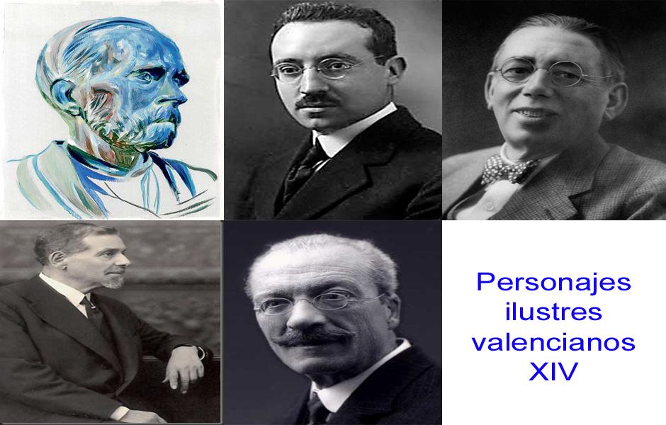 Personajes de la vida valenciana XIV
