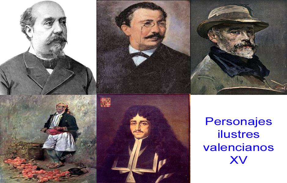 Personajes de la vida valenciana XV