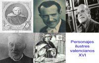 Personajes de la vida valenciana XVI