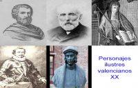 Personajes de la vida valenciana XX