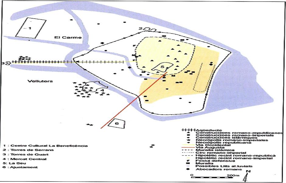 Puertos comerciales de Valencia antigua