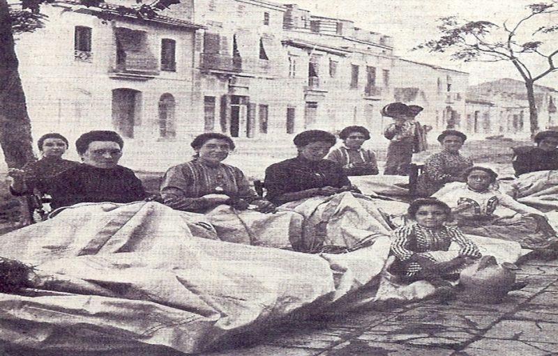 Mujeres de la mar
