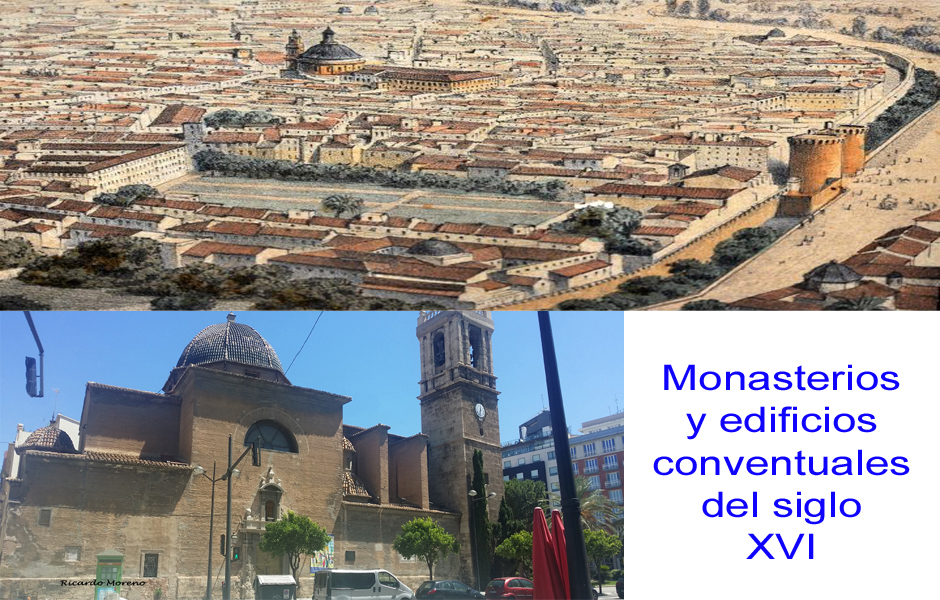 Monasterios y edificios conventuales